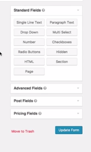 how to create multipage contact form