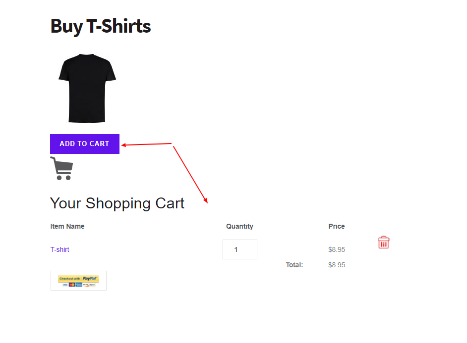 Sell products with WordPress